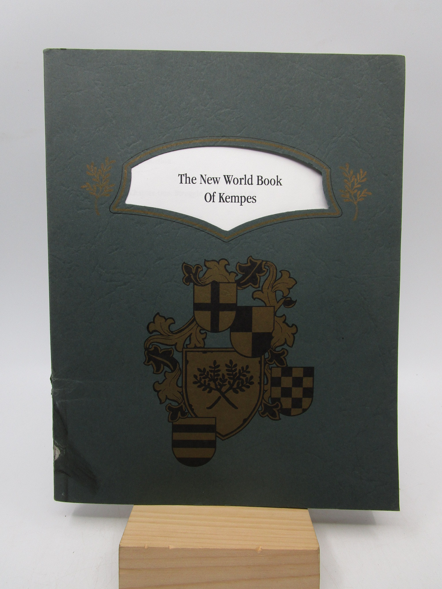 Image for The New World Book of Kempes