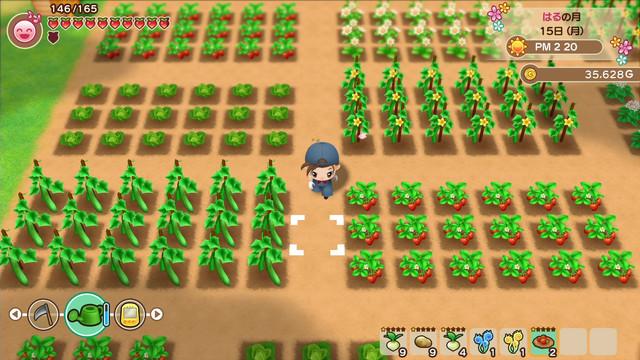 「牧場物語」系列首次在Nintendo Switch™平台推出全新製作的作品! 『牧場物語 橄欖鎮與希望的大地』 決定於2021年2月25日(四)發售! 01