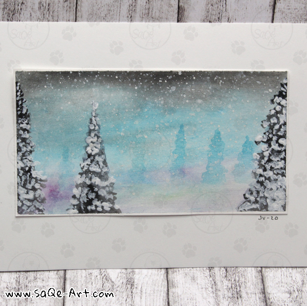 Winter view - SaQe-Art.com