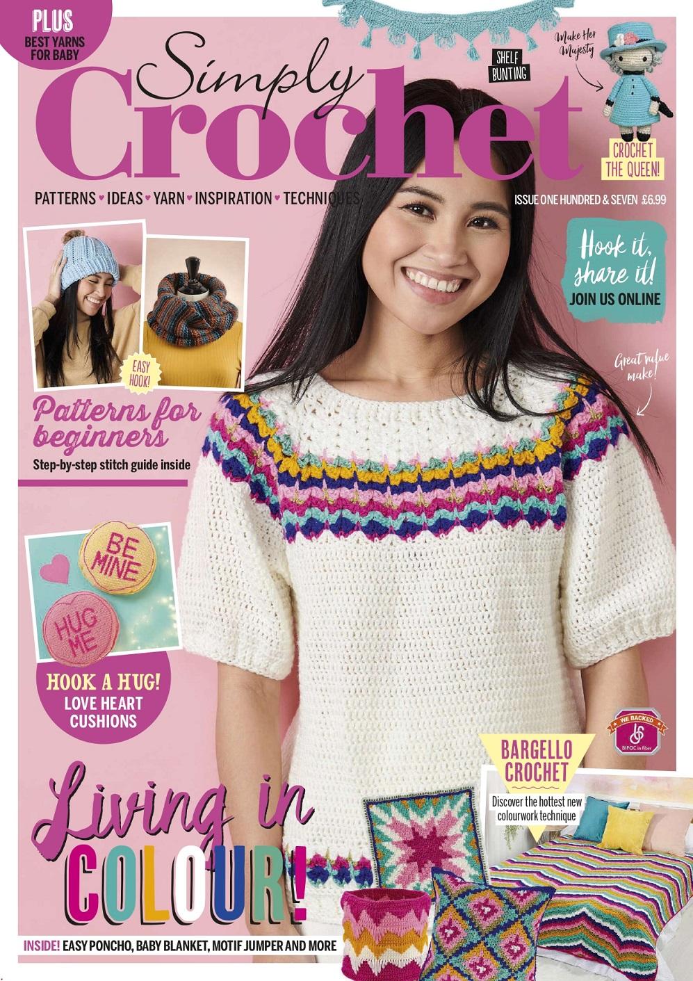 Журнал по вязанию крючком «Simply Crochet» №107 2021