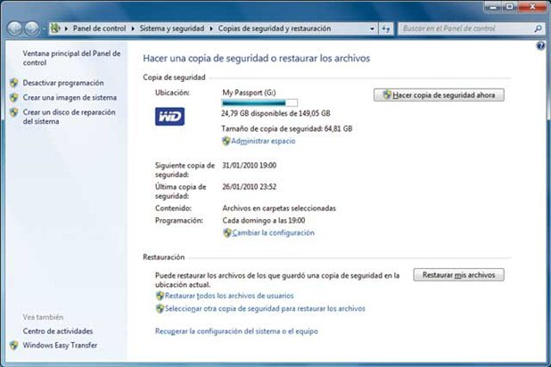 Restaurar Windows 7 con disco de instalación
