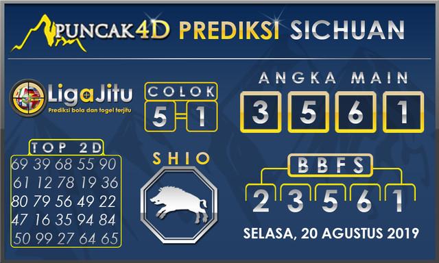 PREDIKSI TOGEL SICHUAN PUNCAK4D 20 AGUSTUS 2019