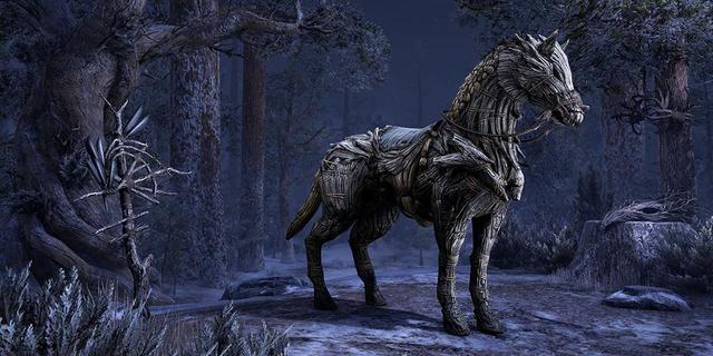 Wicker-Horse