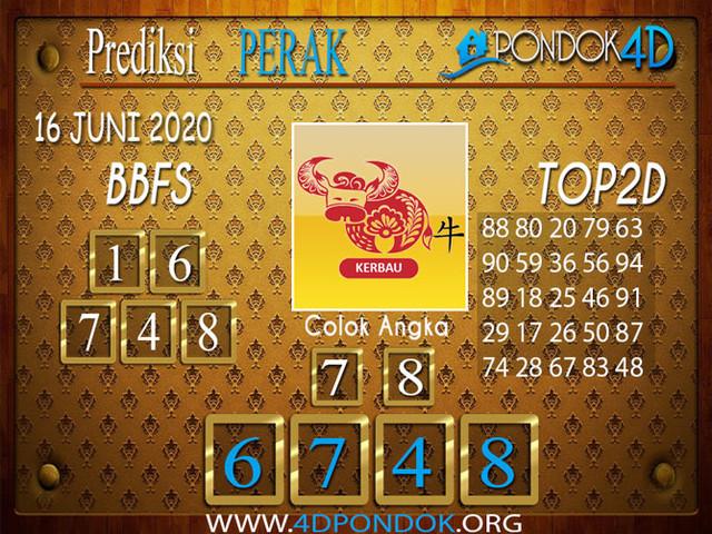 Prediksi Togel PERAK PONDOK4D 16 JUNI 2020