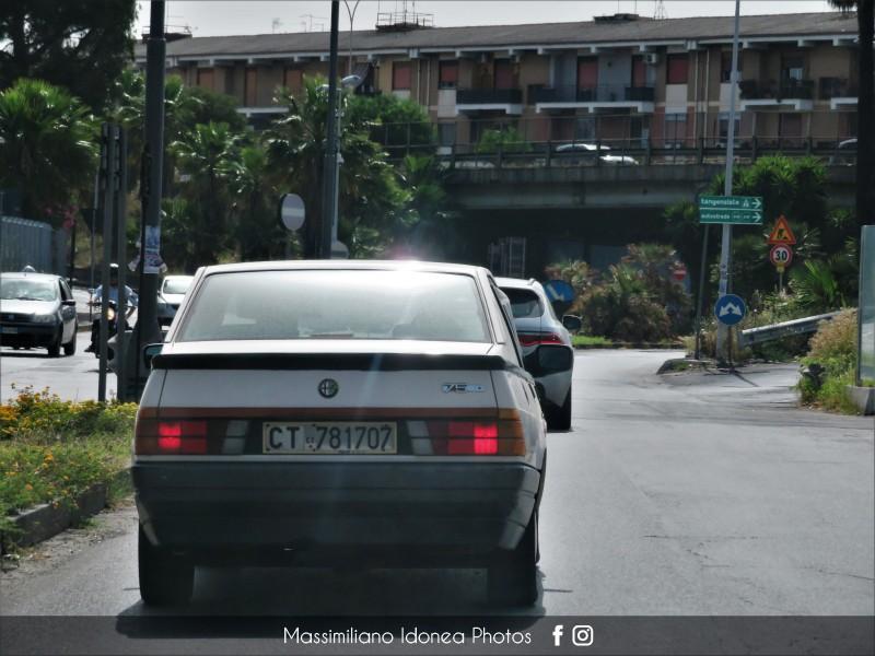 avvistamenti auto storiche - Pagina 27 Alfa-Romeo-75-1-6-110cv-87-CT781707-3