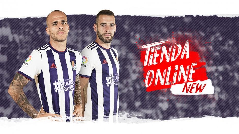 Acuerdo con Amazon para vender los productos oficiales del Real Valladolid en España Tienda-Online