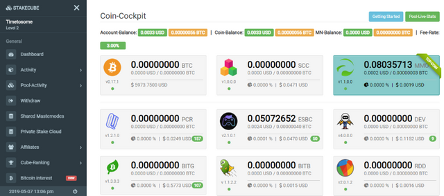Oportunidade [Provado] StakeCube | Proof-of-Stake Pool | Free Coins Faucet | Exchange (Actualizado em Julho de 2019) Stakecube22