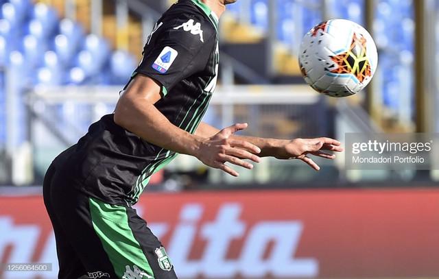 Sassuolo-football-player-Mert-Muldur-during-the-match-Lazio-Sassuolo-in-the-Olimpic-Stadium-Rome-Ita