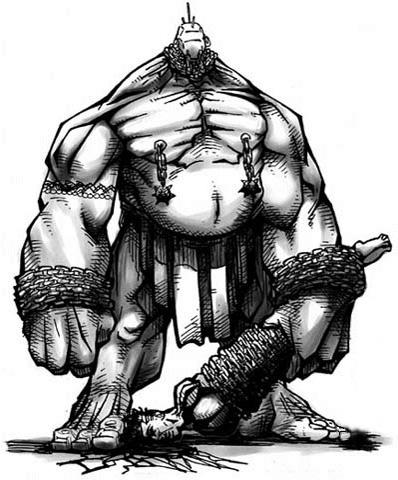 Criaturas de Diablo 2 Blunderbore-concept