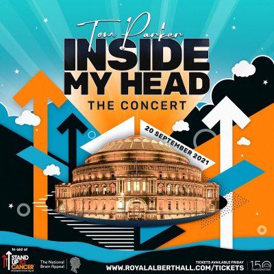 Tom Parker Inside my Head Concert Poster