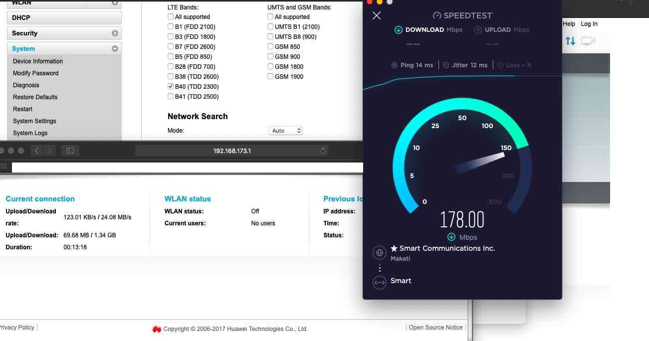 TipidPC com - Huawei B525-65a 4 5G LTE+ Cat6 Modem WiFi Router