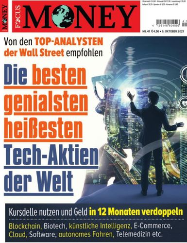 Cover: Focus Money Finanzmagazin No 41 vom 06  Oktober 2021