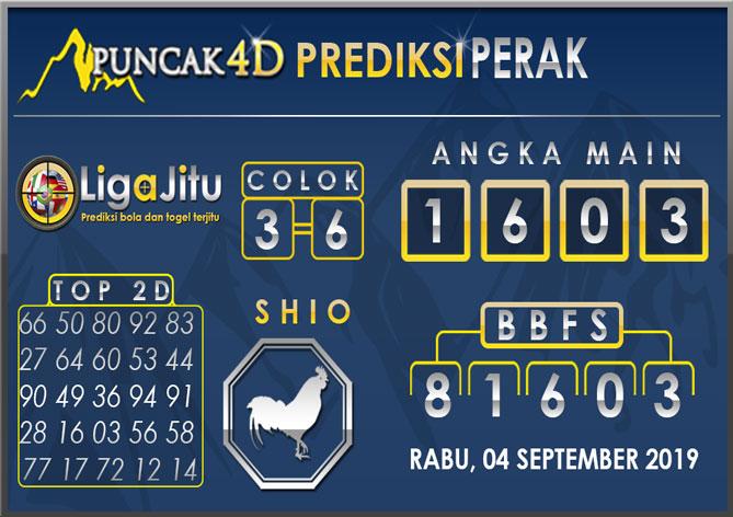PREDIKSI TOGEL PERAK PUNCAK4D 04 SEPTEMBER 2019