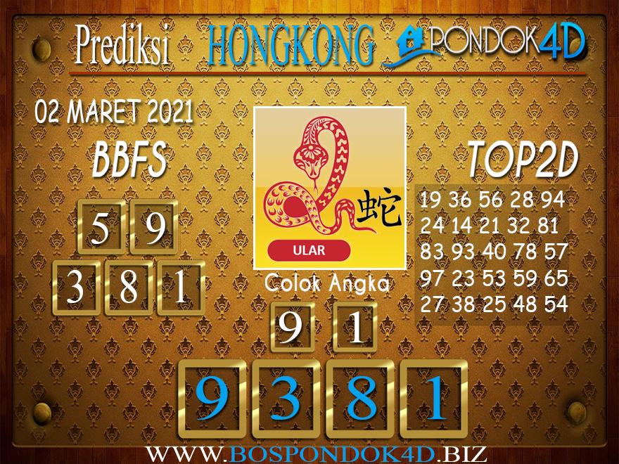 Prediksi Togel HONGKONG PONDOK4D 02 MARET 2021