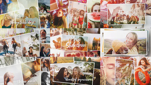 Summer Photo Slideshow 30662635 - Project for After Effects (Videohive)
