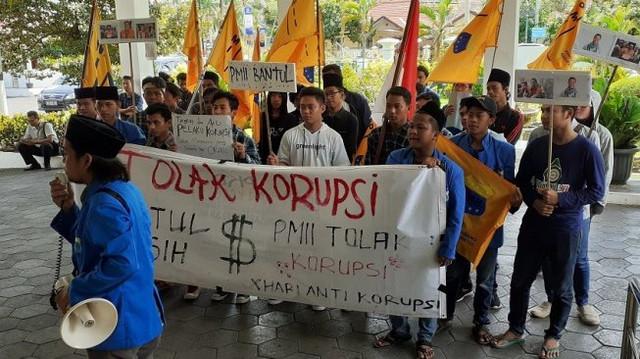 PMII-Bantul-Demo-Peringati-Hari-Antikorupsi