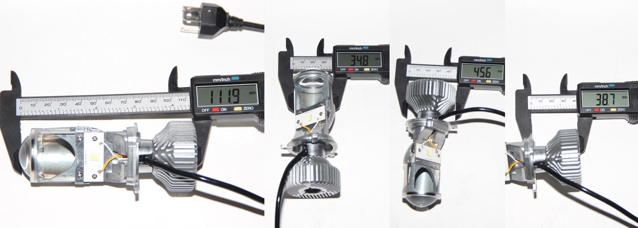 Новые бюджетные линзованные светодиодные лампы H4 Stella