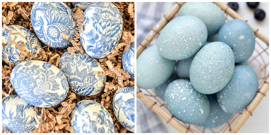 blue-egg-collage