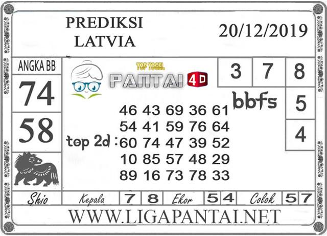 PREDIKSI TOGEL LATVIA PANTAI4D 20 DESEMBER 2019