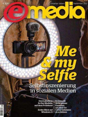 Cover: e-Media Magazin Hardware Software Internet September 2021