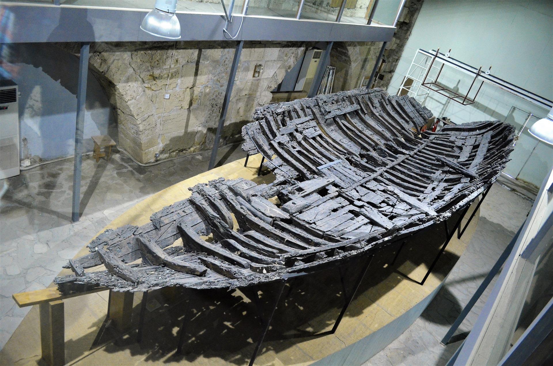 Кирения музей кораблекрушений фото