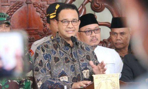 Anies Bongkar Fakta-Fakta Keganasan Kematian Corona di Jakarta