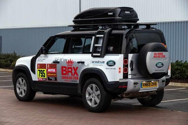 Le Nouveau Defender Va Jouer Un Rôle Crucial Dans Le Retour De Land Rover Sur Le Dakar En 2021 Defenders-Dakar2021-03