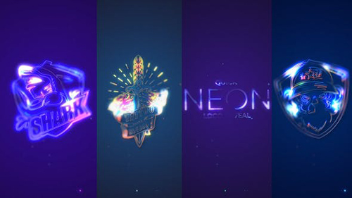 Quick Neon Logo Reveal 33149288 - Project for After Effects (Videohive)