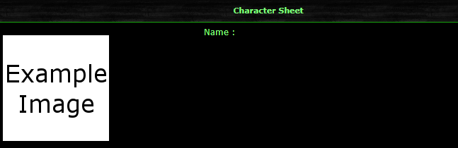 Change the placement of the image in the character sheet Phpbb2-character-sheet-layout
