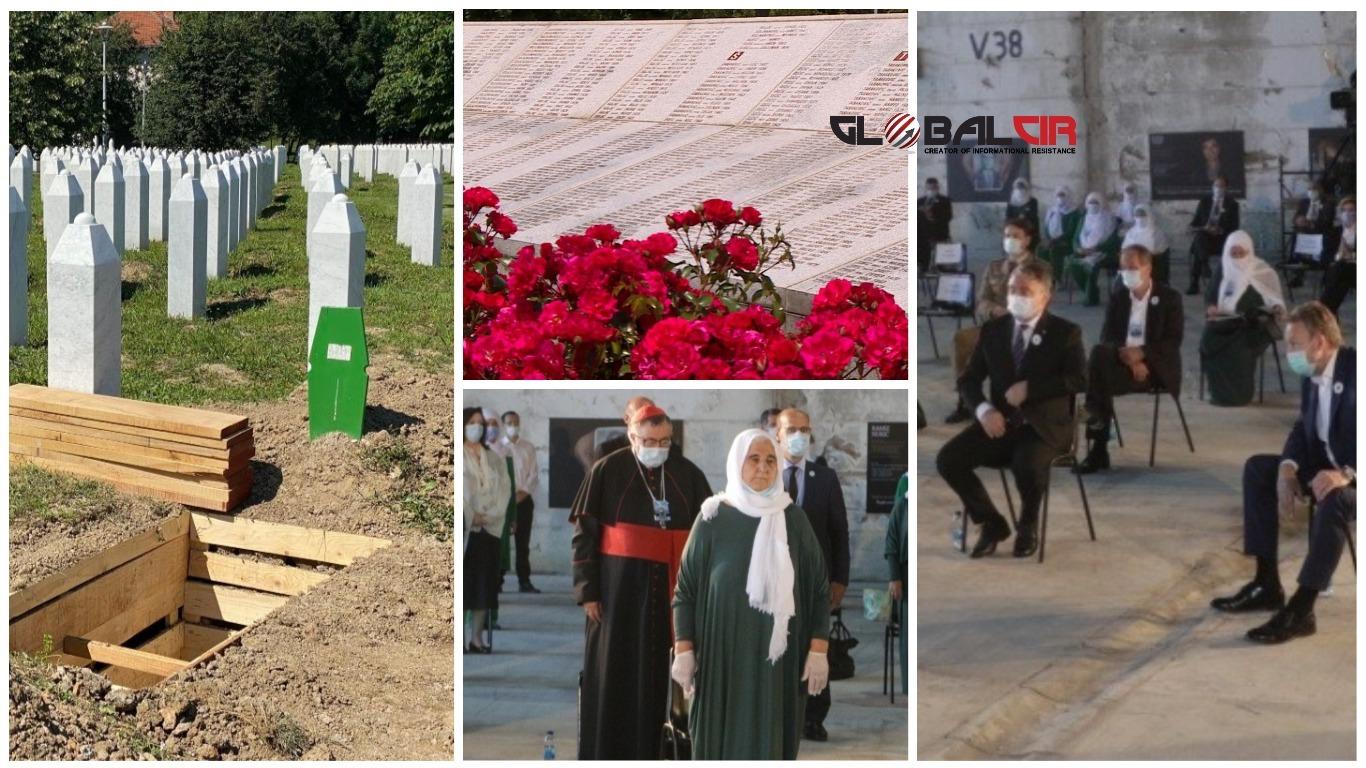 UŽIVO: 25. godišnjica genocida u Srebrenici