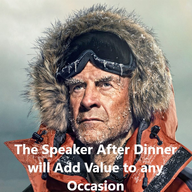 The Speaker After Dinner will Add Value to any Occasion