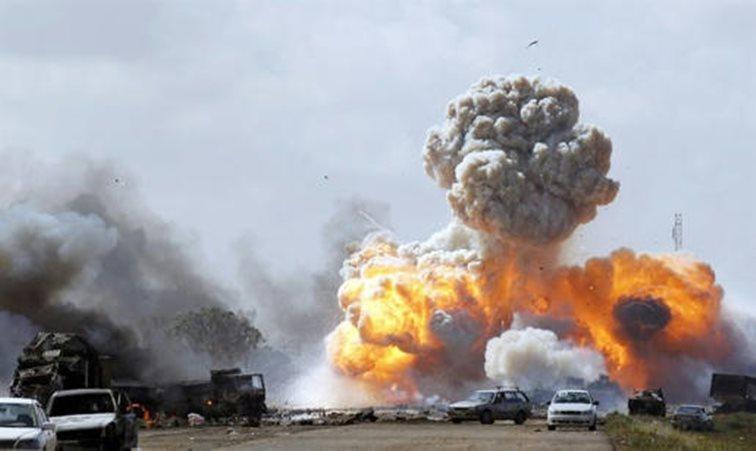 Y dentro de ese marco trágico, otro frente está adquiriendo la misma configuración: Libia