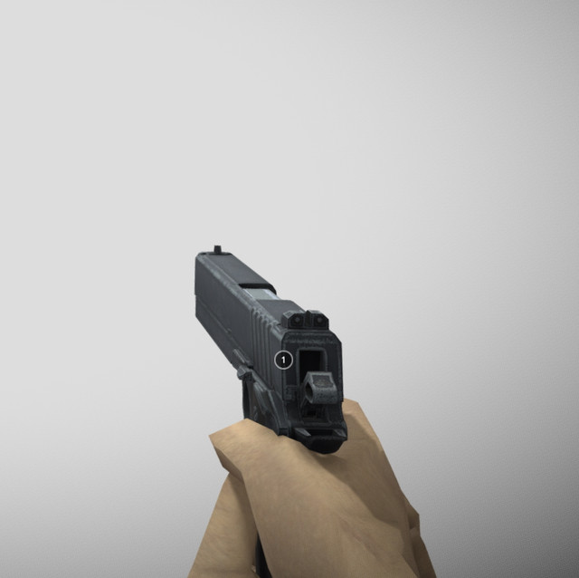 Animated LowPoly Pistol's icon