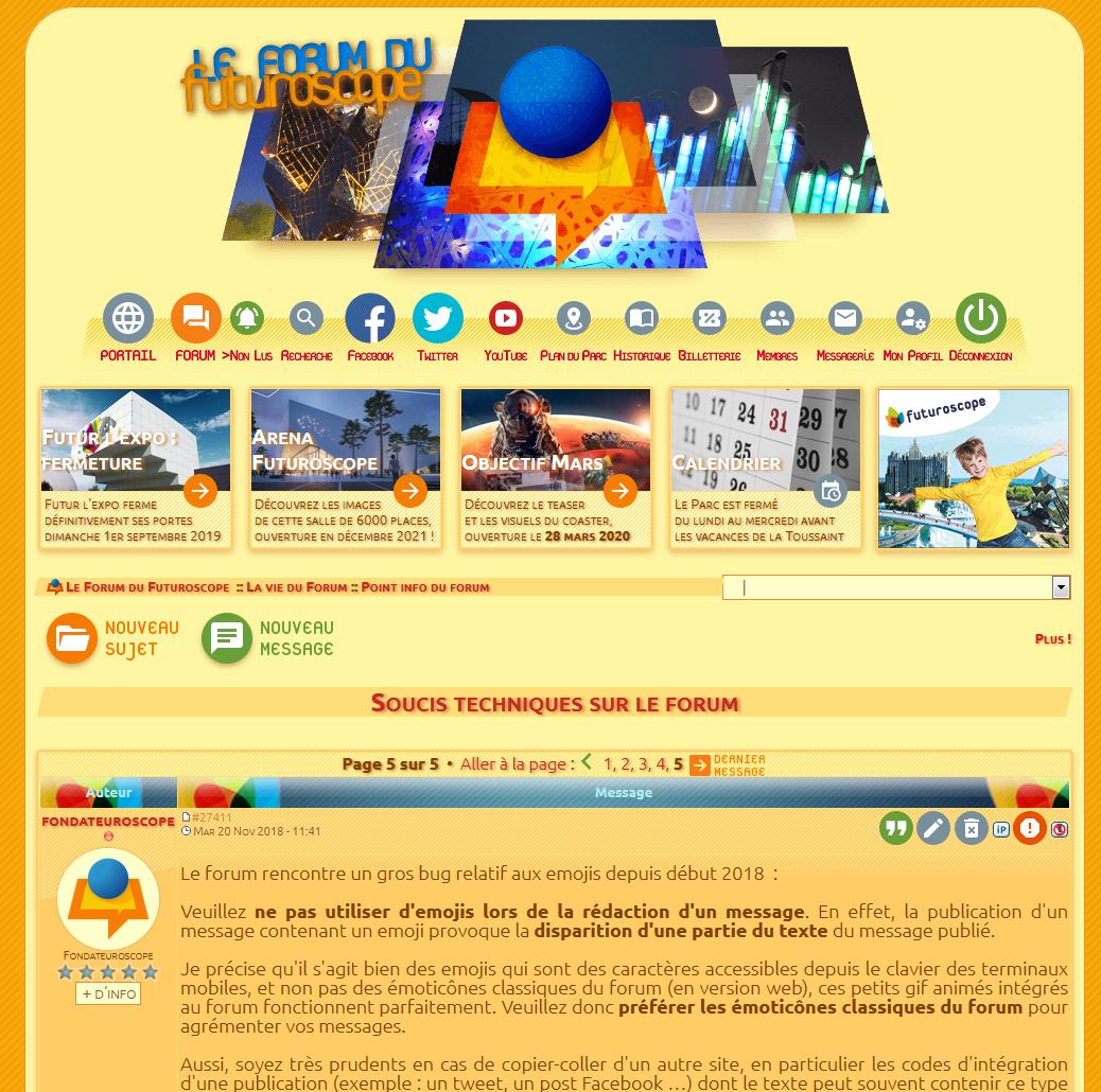 Pages s'affichant parfois sans templates personnalisés Forum-template-ok