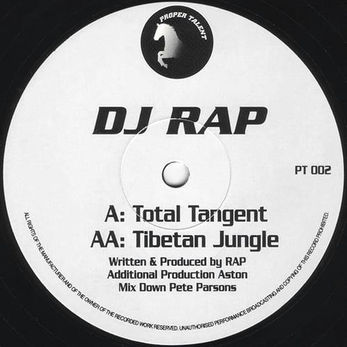 DJ Rap - Total Tangent / Tibetan Jungle
