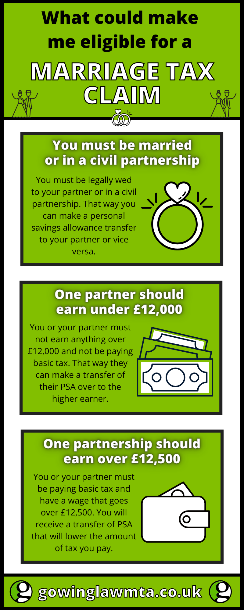 marriage tax claim infographic
