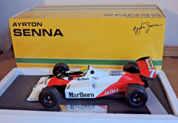 Senna 1983 Mclaren Test car MP4-1C