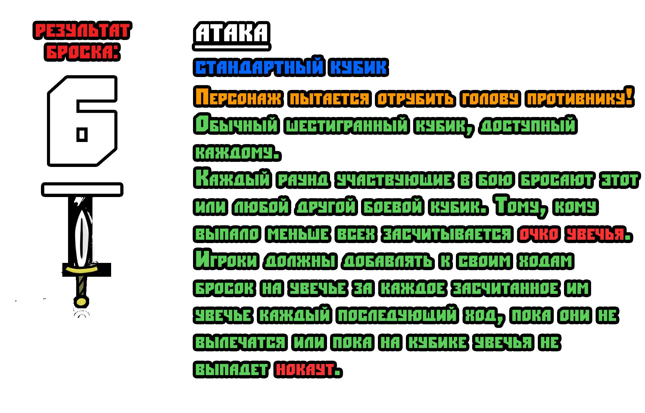 Тест боевой системы 6-1