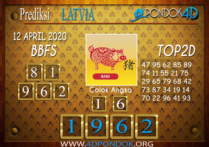 Prediksi Togel LATVIA POOLS PONDOK4D 12 APRIL 2020