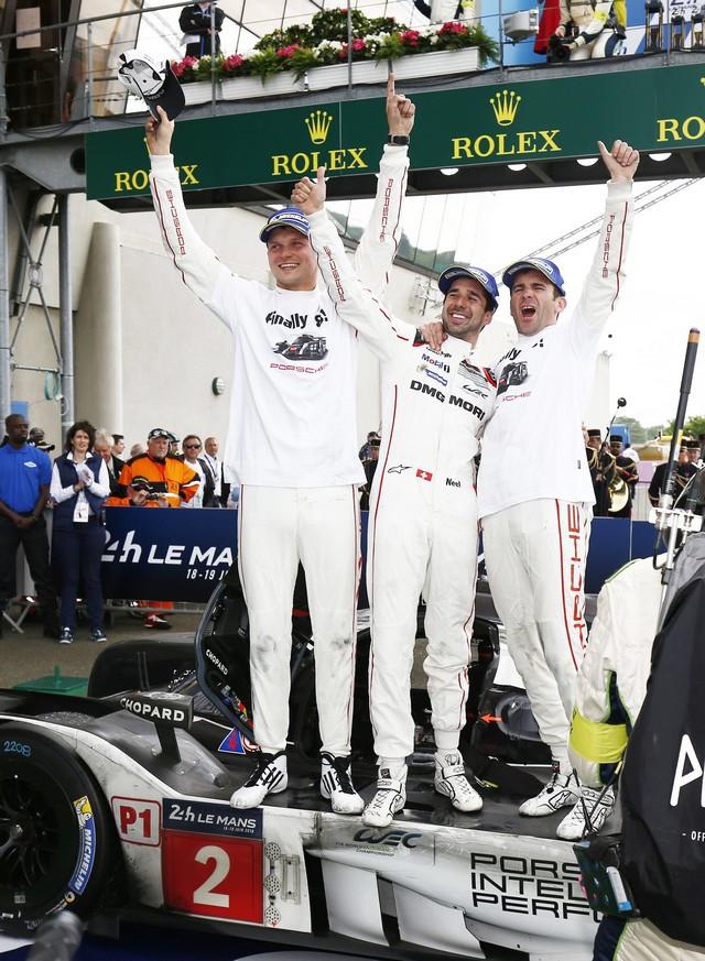 Il y a 50 ans, Porsche a remporté sa première victoire au classement général au 24 Heures du Mans S20-1734-fine