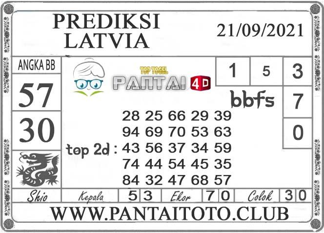 PREDIKSI TOGEL LATVIA PANTAI4D 21 SEPTEMBER 2021