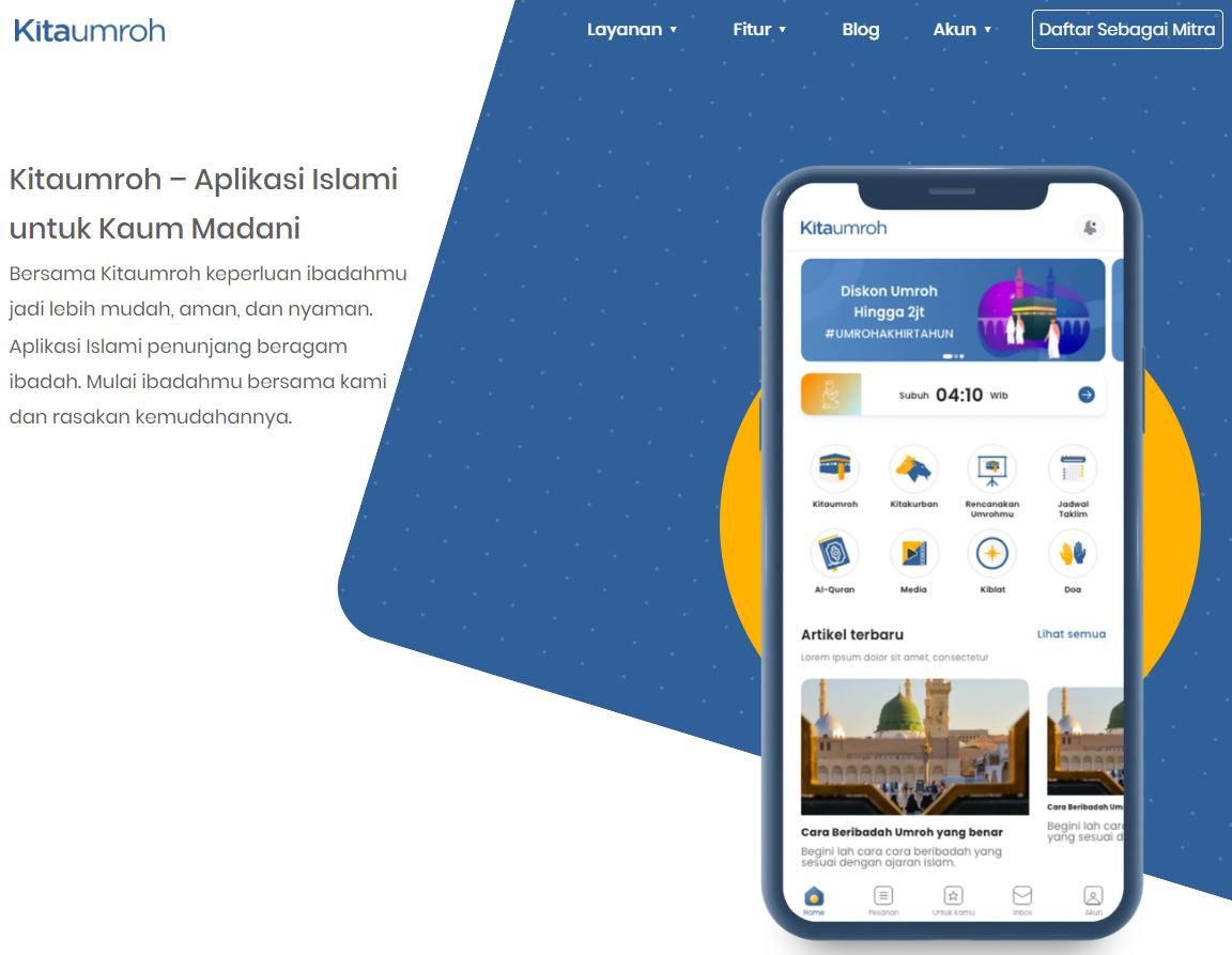Kitaumroh: Marketplace Umroh dengan Travel Terlengkap dan Bersertifikasi Kemenag