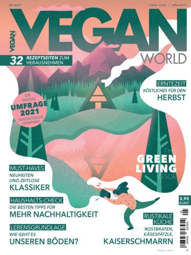 Cover: Vegan World Magazin No 05 2021