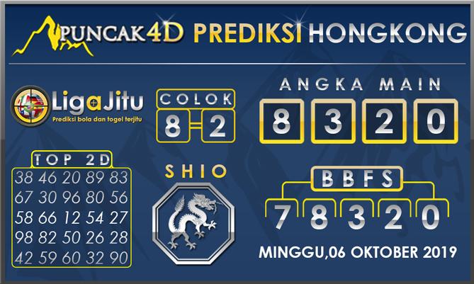 PREDIKSI TOGEL HONGKONG PUNCAK4D 06 OKTOBER 2019