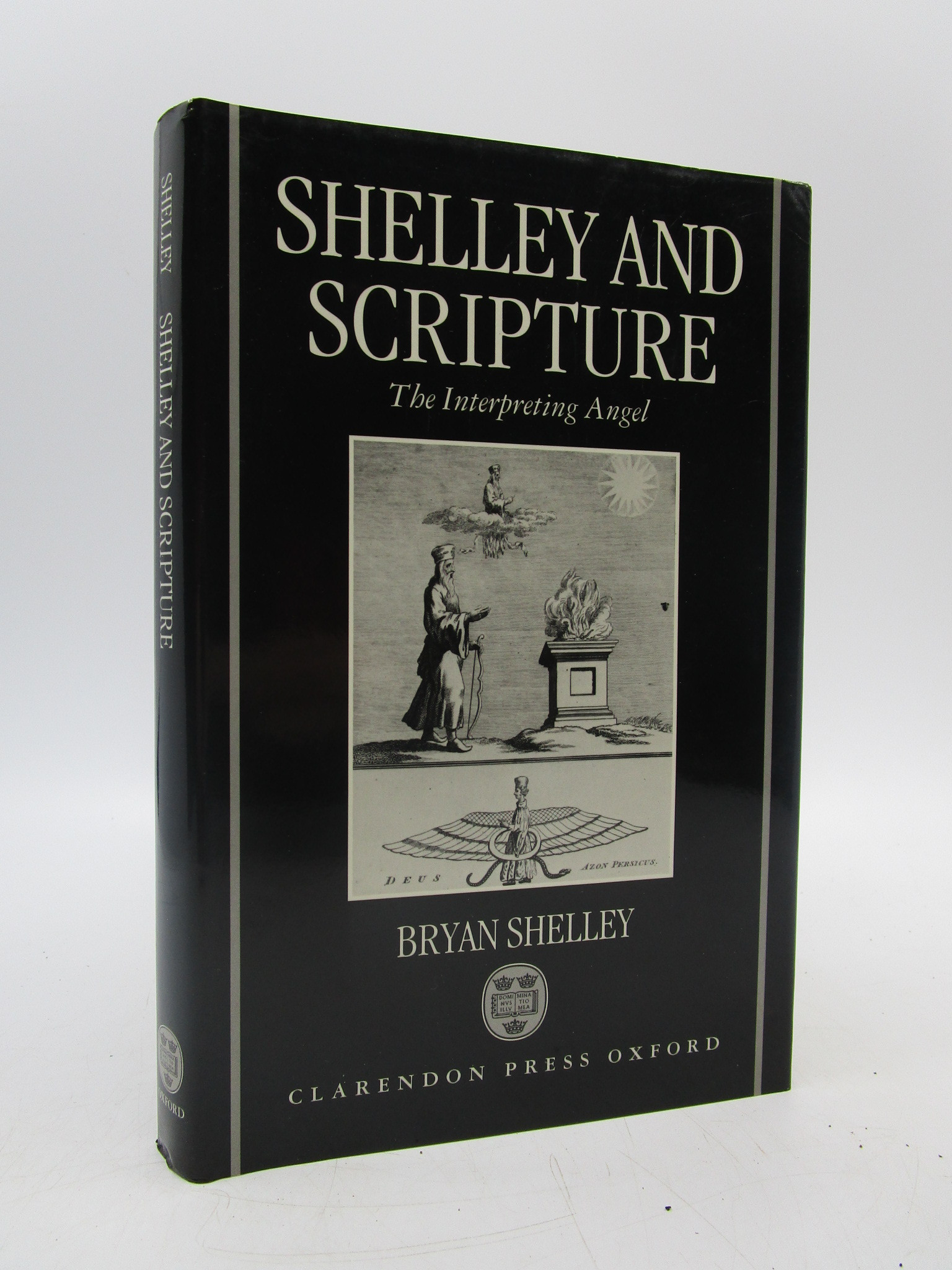 Image for Shelley and Scripture: The Interpreting Angel (Oxford English Monographs)