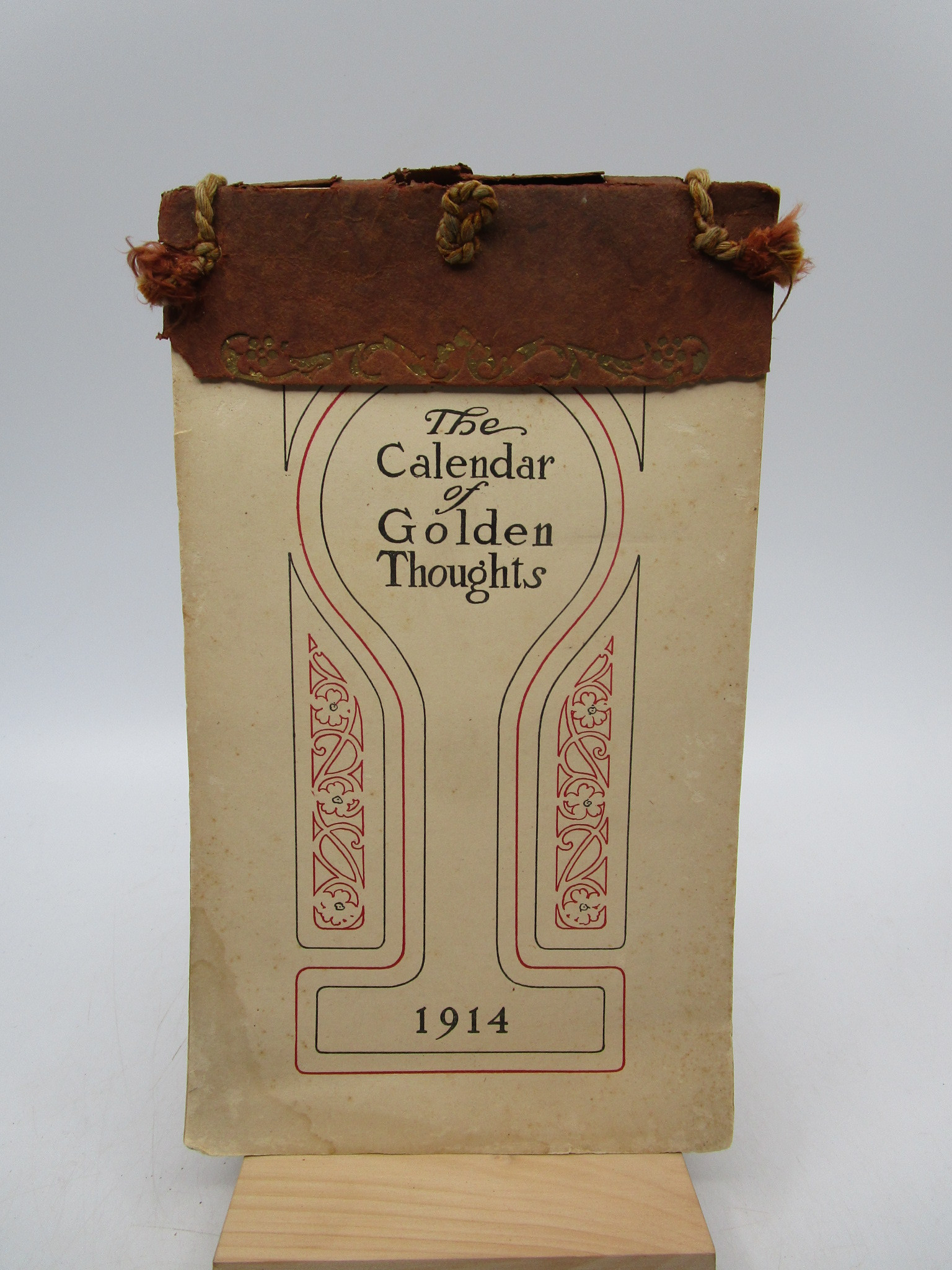 Image for The Calendar of Golden Thoughts