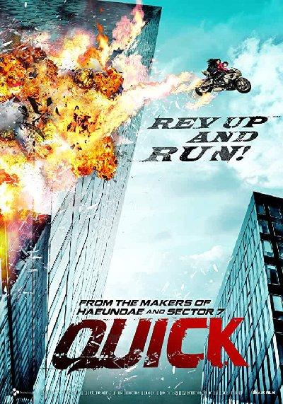 Quick (2011) Hindi Dubbed 720p HDRip x264 1.2GB ESub DL