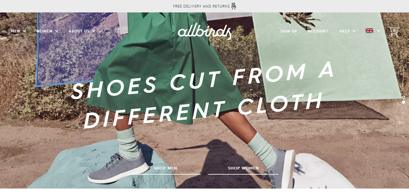 The Allbirds travel product recommended by Danny McLoughlin on Pretty Progressive.