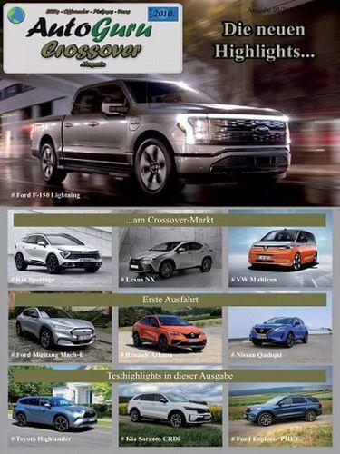 Cover: AutoGuru Das neue Automagazin Crossover No 03 2021