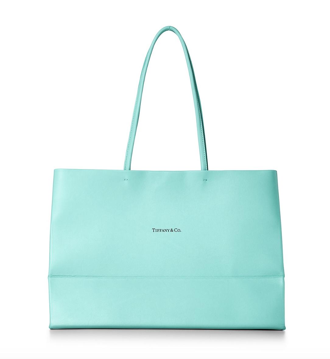 Borse Tiffany.Tiffany Crea La Borsa In Pelle Ipirata Alle Sue Shopper Wondernet Magazine